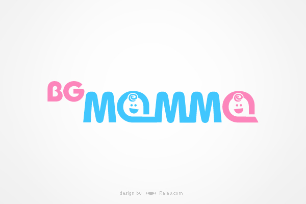 BG-Mamma - redesign of logo