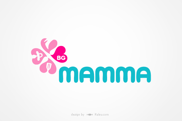 BG-Mamma - design of logo