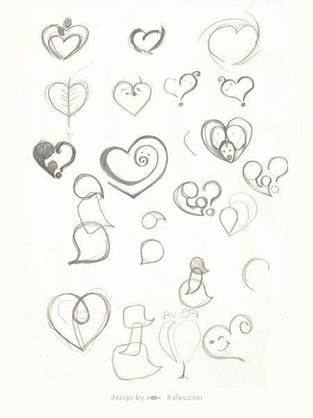 BG-Mamma sketch of logo redesign
