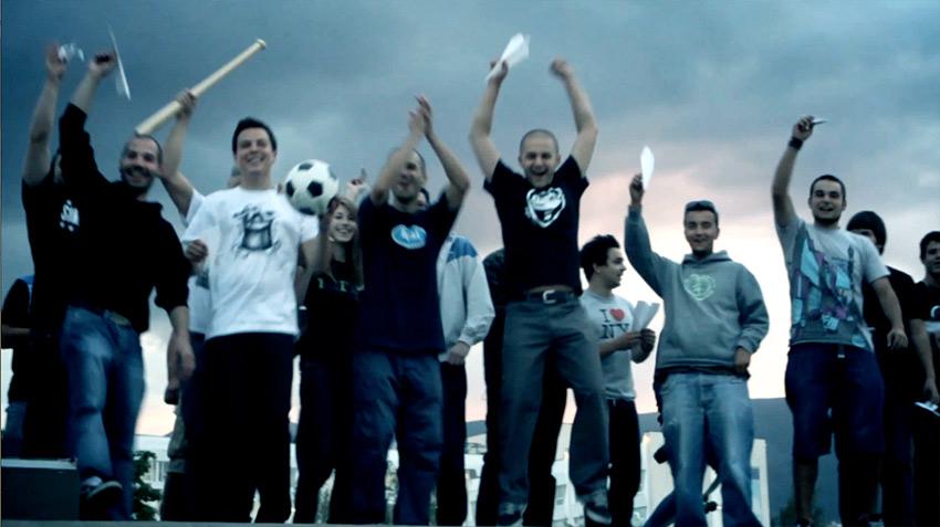 punk music video