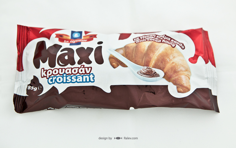croissants packaging design