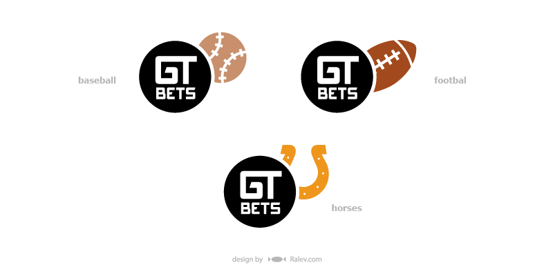 GT Bets - logo identity redesign proposals