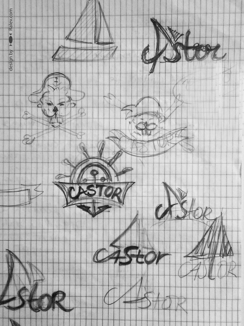 Castor - design sketch