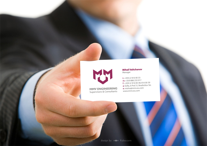 MMV engineering - business card design