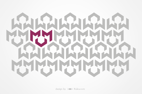 MMV engineering - logo design pattern