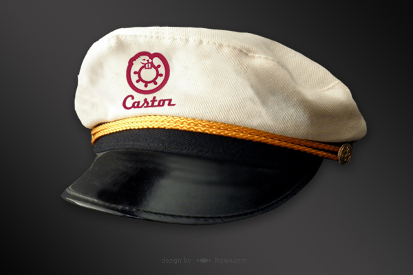 Castor - captain hat design