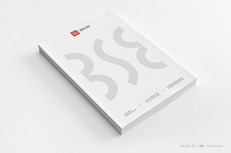 commercial building letterhead design