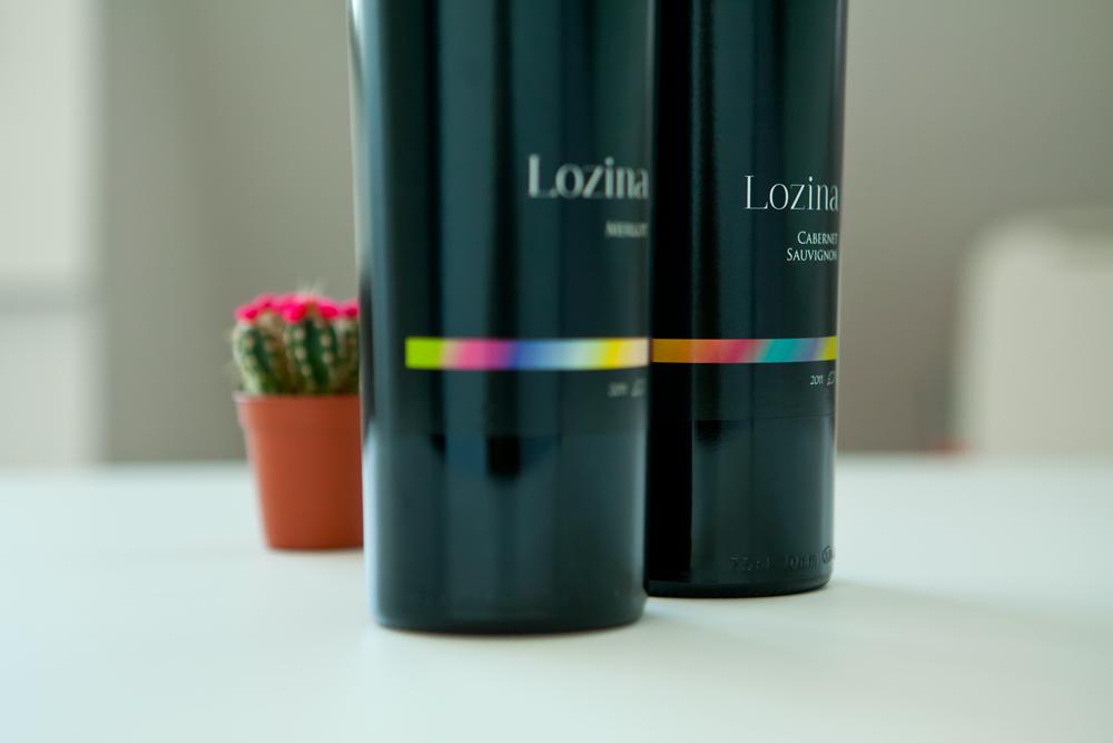bulgarian wine label design