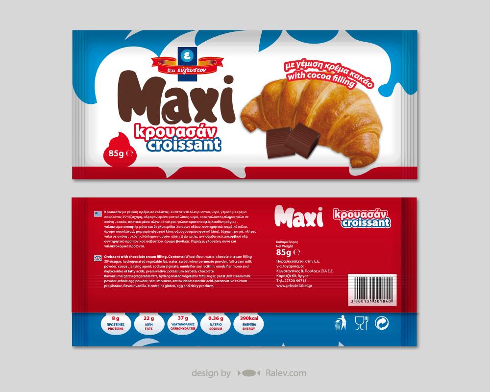 croissant package design