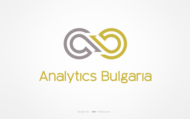 Analytics bulgaria corporate identity logo design