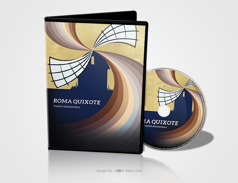 Roma-Quixote-DVD-design